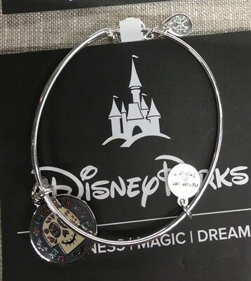 Alex and Ani Walt Disney World Coco Day of the Dead Bracelet Bangle SILVER