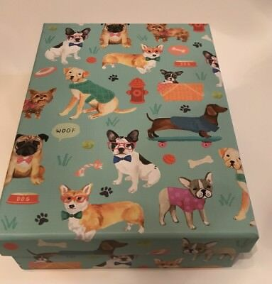 BOSTON TERRIER French Bulldog Frenchie PUG Storage Box Or Gift Box