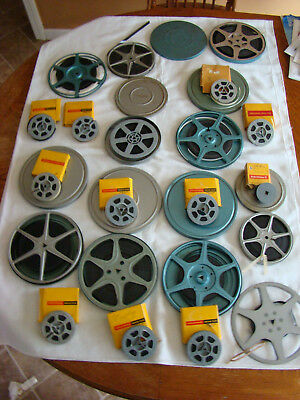 HUGE LOT OF VTG 8mm FILM AND REELS - CIRCA 1969 - UNVIEWED