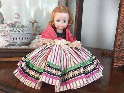 "Madame Alexander Vintage ALEX Little Women Wendy Kin 8"" Bent Knee Walker Doll"