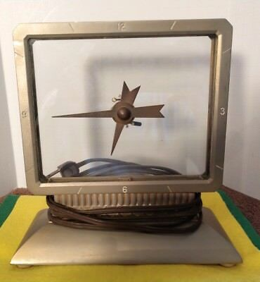 Antique/rare Mastercrafters Model 209 Mystery Clock-Works