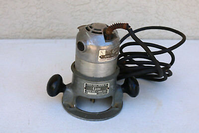 Porter Cable Guild Router 1100 Porter Cable Base 1101 Heavy Duty Motor Working