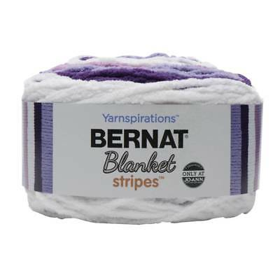 NEW Bernat Blanket Stripes Yarn 300 g By Spotlight