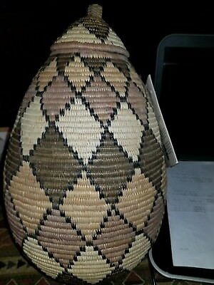 Traditional Zulu Baskets signed made in south africa