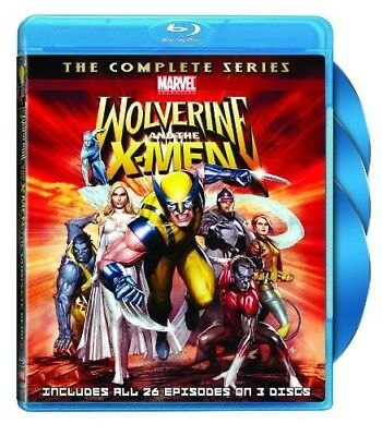 Wolverine and the X-Men: The Complete Series (Blu-ray Used Like New) BLU-RAY/WS