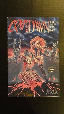 CRY FOR DAWN #1 VOLUME 1 1st Appearance DAWN Signed by JOSEPH LINSNER 1st Print