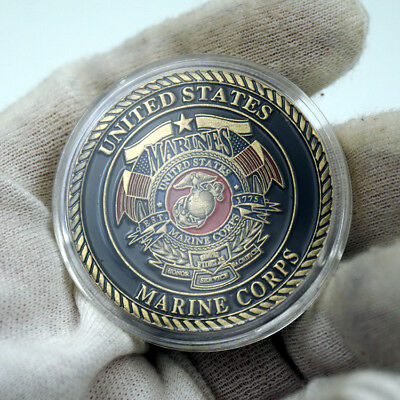 United States Army Marine Corps Devil Dog Military Challenge Coin US