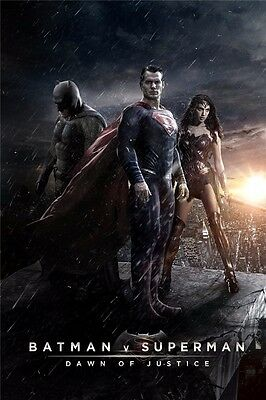 Superman Super Hero Hot Movie Art Silk Poster 12x18 24x36