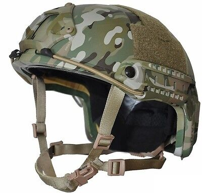 MULTI-CAM High Cut (Special Forces)  LVL IIIA- Ballistic KEVLAR - Helmet