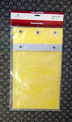 Permit Document Holder by Mayo Hardware / Safety Accessory - A4 Size Clear Front