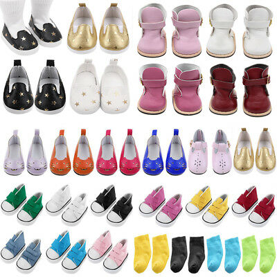Doll Shoes Socks Accessories For 18 inch American Girl Our Generation Accs