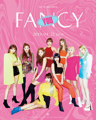 TWICE FANCY YOU 7th Mini Album CD+POSTER+Photo Book+Cards+Sticker+Pre-Order+GIFT