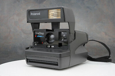 ~Classic Polaroid One Step Close Up Instant 600 Film Camera Fully Operational 27