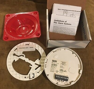 Smoke Detector 100 Series 12/24 VDC, 4 Wire Photoelectric System Model 2112/24TS