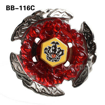 HELL CROWN Fusion Metal Master Rapidity 4D Beyblade BB116C + Power Launcher NI