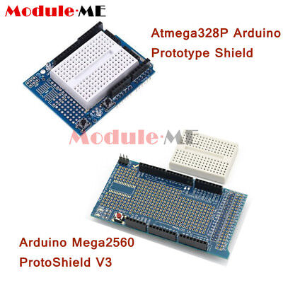 Prototype Shield ProtoShield V3 Mit Mini Breadboard For Arduino UNO MEGA2560 UK