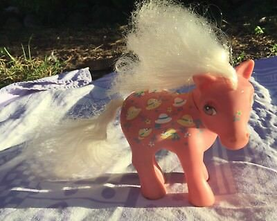 1983 Hasbro My Little Pony G1 Pink – Made In Hong Kong