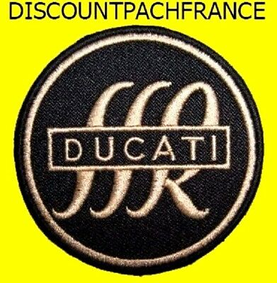 DUCATI SSR 6.5 CM. Patch écusson thermocollant aufnäher embroidered patches.