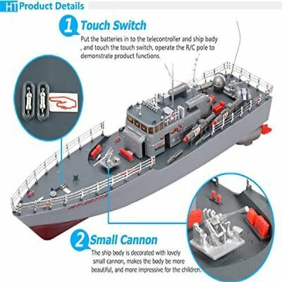 Boats & Watercraft RC Missile Warship Radio Remote Control HT-2877