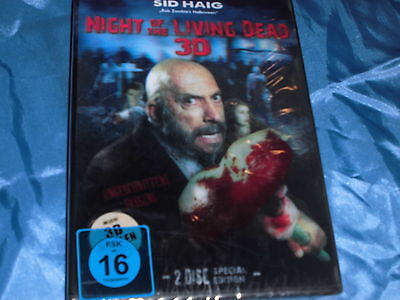 03 : FILM  DVD , NIGHT OF THE LIVING DEAD , 3 D / 2 Disc Special Edition , ovp.