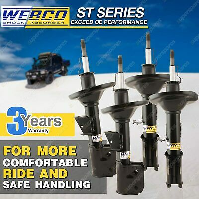 Front Rear Webco Elite Shock Absorbers TOYOTA AURION GSV40R ATX Prodigy Presera