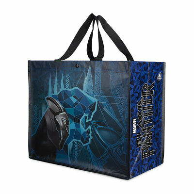 Disney Marvel BLACK PANTHER REUSABLE TOTE  NEW!