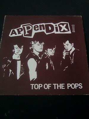 Appendix - Top of the Pops LP Rock-o-Rama ror 1984 finnish HC-PUNK riistetyt