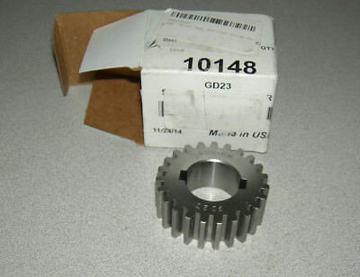 Boston Gear GD23 Plain Change Gear, 14.5 Degree Pressure Angle, 12 Pitch, 1.000""