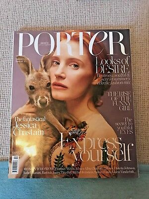PORTER Magazine Summer 2016 Jessica Chastain Issue 14 NEW
