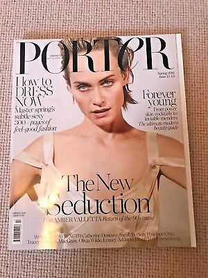 PORTER Magazine Spring 2016 Amber Valleta Issue 13 NEW