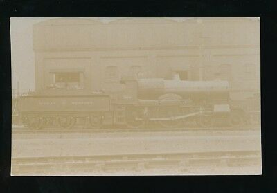Railway GREAT WESTERN engine #3804 County Dublin c1900s? RP PPC by Pouteau