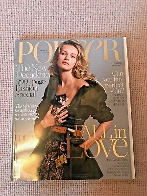 PORTER Magazine Fall 2016 Issue 16 New Decadence MINT Condition!