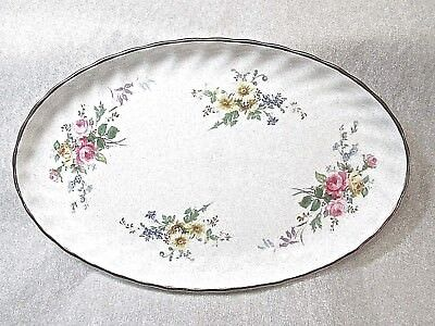 Royal Doulton Arcadia .. English Fine Bone China Oval Relish Dish