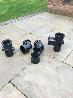 New soil pipe fittings for standard stack