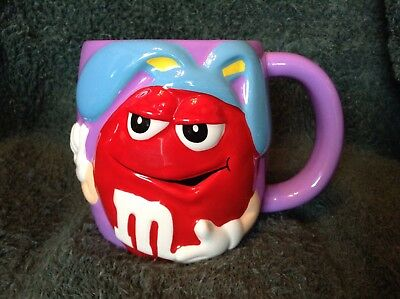 Red M & M On Purple Cup, Easter