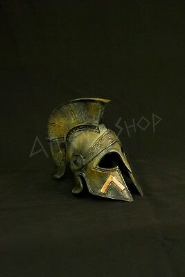 Ancient  Greek Bronze Spartan  Helmet (Leonidas)