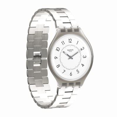 SWATCH SKIN orologio uomo donna ultrasottile acciaio Skinsteps 40mm SVUM101G