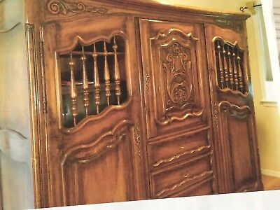 French Carved Armoire