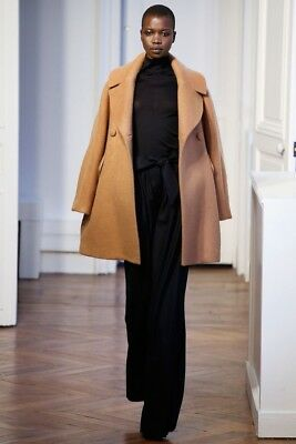 Martin grant Camel Oversized Coat Buttons High Collar