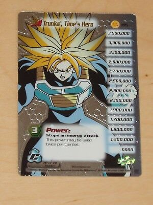 Dragonball Z Trading Cards Trunks Times Hero Karte Collectible Card Game