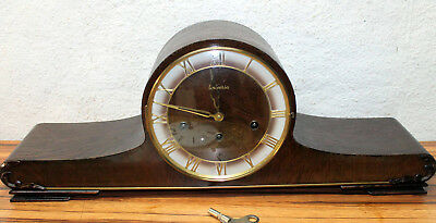 Antique Table Clock Mantel clock Westminster Clock*UNIVERSA* Franz Hermle & Sohn