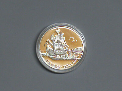 CANADA Silberdollar 1999 Queen Charlotte Islands PP