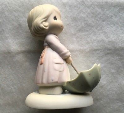 """precious moments By Enesco 1995 """"the Sun Is Always Shinning Somewhere"""""""