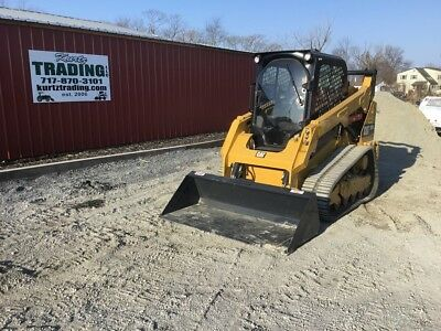 2017 Caterpillar 259D Tracked Skid Steer Loader w/ Cab & Loaded  with Options!
