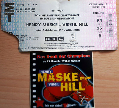 HENRY MASKE - VIRGIL HILL, München 23.11.1996 Time to say goodbye