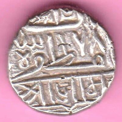 Nawanagar State-Shree Jaam-One Kori-Rarest Beautiful Silver Coin-102