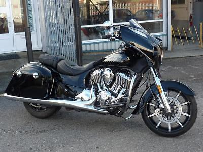 Indian Chieftain Limited Pearl Thunder Black 2017 3042 Miles