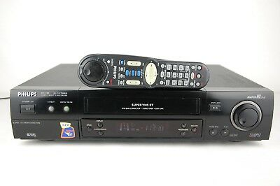 Philips VR1100 TBC Super-VHS ET Videorecorder Videorekorder ShowView *Top Gerät*
