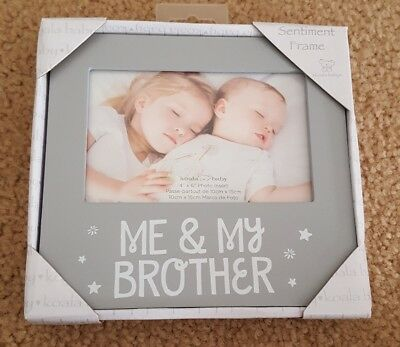 Me & My Brother baby picture frame