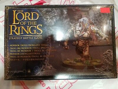 Mordor/Isengard Troll Citadel Lord Of The Rings Brand New In Packet